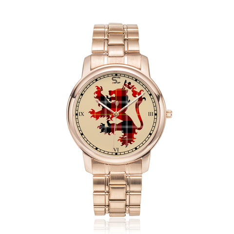 Marjoribanks Tartan Watch Lion Scottish Vesion K7