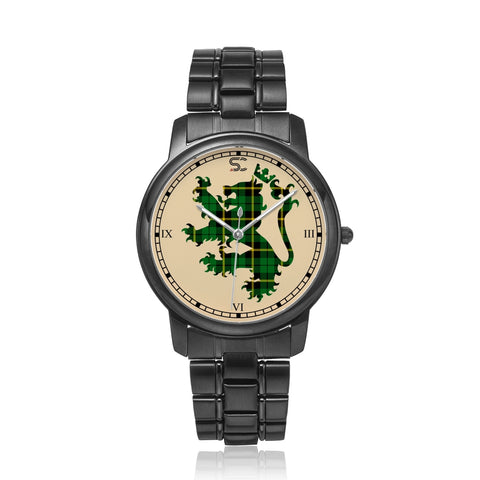 Wallace Hunting - Green Tartan Watch Lion Scottish Vesion K7