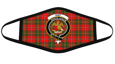Image of Hay Modern Clan badge Tartan Mask K7