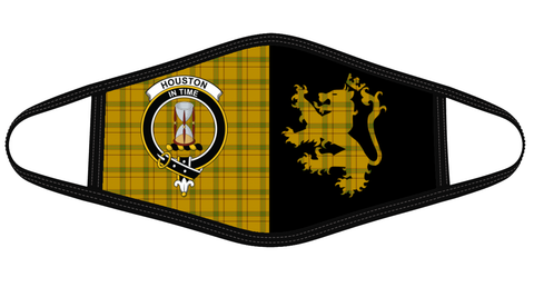 Houston Clan Badge Lion Mask Tartan Version 2 K6