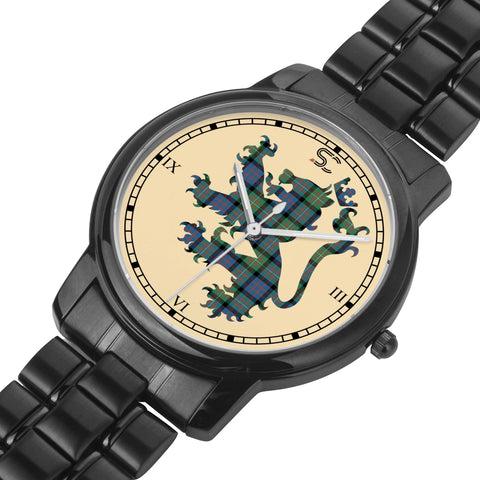 MacDonnell of Glengarry Ancient Tartan Watch Lion Scottish Vesion K7