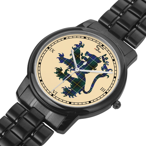 MacInnes Modern Tartan Watch Lion Scottish Vesion K7