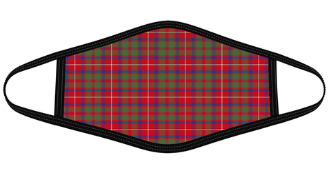 Image of Shaw Red Modern Tartan Mask K7
