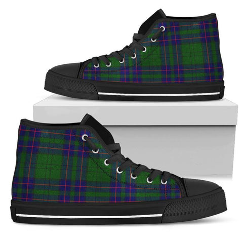 Tartan Canvas Shoes - Lockhart Modern High Top | Over 500 Tartans