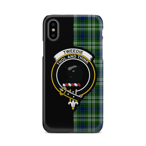 Tweedside District Tartan Cell Phone Case - Half Style TH8