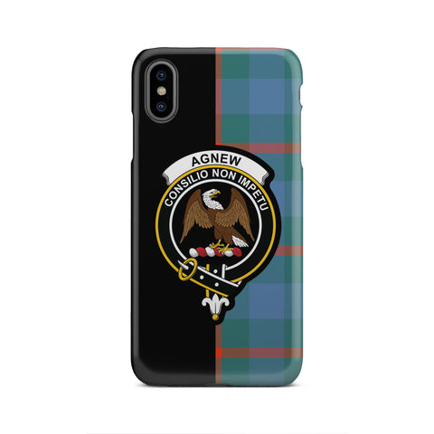 Image of Agnew Ancient Tartan Cell Phone Case - Half Style TH8