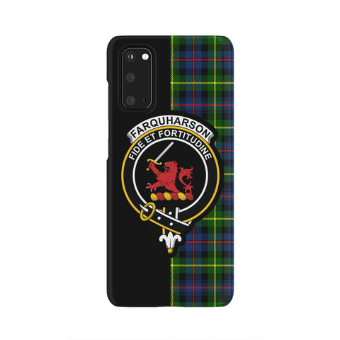 Image of Farquharson Modern Tartan Cell Phone Case - Half Style TH8