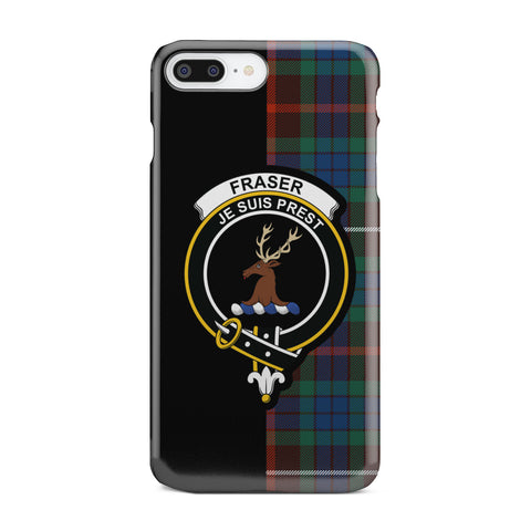 Fraser Hunting Ancient Tartan Cell Phone Case - Half Style TH8