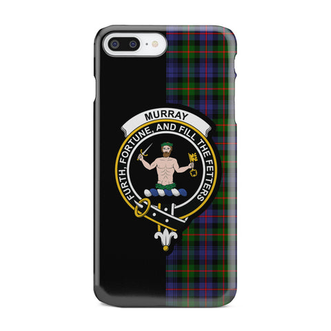 Murray Of Atholl Modern Tartan Cell Phone Case - Half Style TH8
