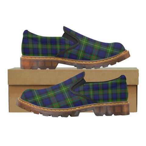 Tartan Martin Loafer - Macewen Modern | Men's Casual Loafers | Tartan shoes
