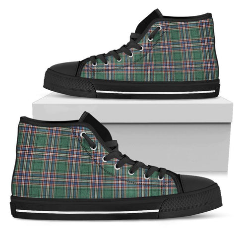 Tartan Canvas Shoes - Macfarlane Hunting Ancient High Top | Over 500 Tartans