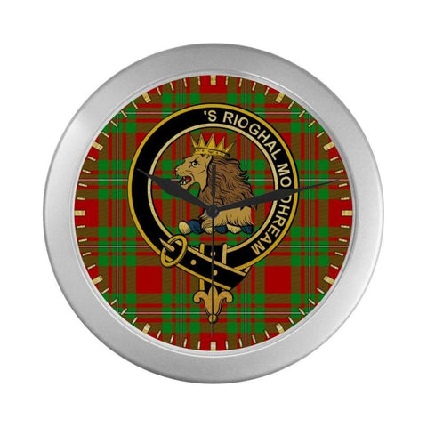 Macgregor Clan Tartan Wall Clock | Tartan Home Decor | Hot Sale