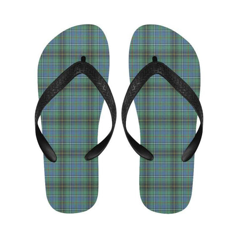 Macinnes Ancient Tartan Flip Flops For Men/women C23 Unisex