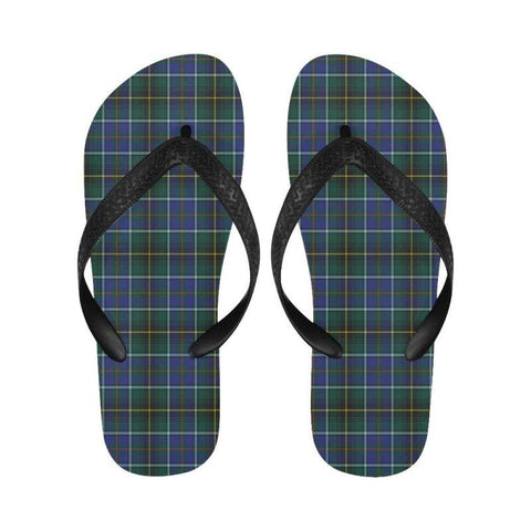 Macinnes Modern Tartan Flip Flops For Men/women C23 Unisex