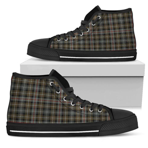 Tartan Canvas Shoes - Mackenzie Weathered High Top | Over 500 Tartans