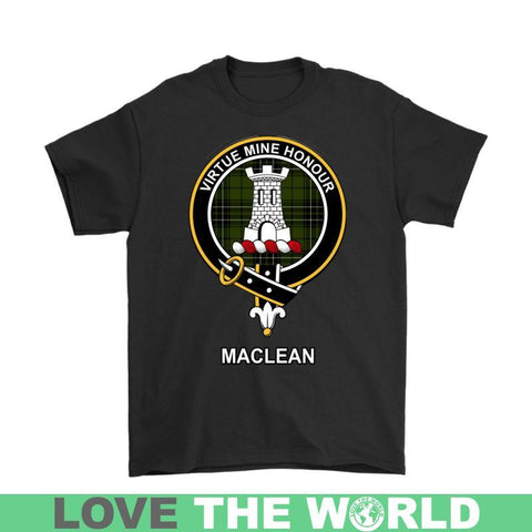 Image of Maclean Clan Tartan T-Shirt | Over 500 Tartans and 300 Clans | Love Scotland