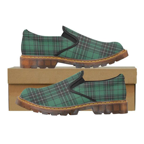 Tartan Martin Loafer - Maclean Hunting Ancient | Men's & Women's Casual Loafers | Tartan shoes