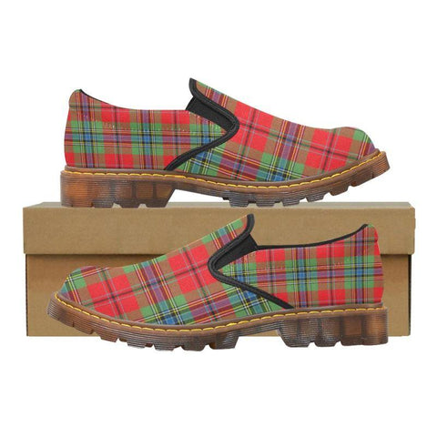 Tartan Martin Loafer - Maclean Of Duart Modern | Men's Casual Loafers | Tartan shoes