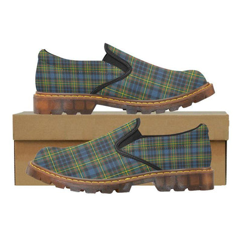 Tartan Martin Loafer - Maclellan Ancient | Men's Casual Loafers | Tartan shoes