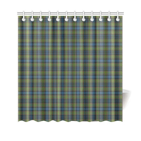 Tartan Shower Curtain - Maclellan Ancient | Bathroom Products | Over 500 Tartans