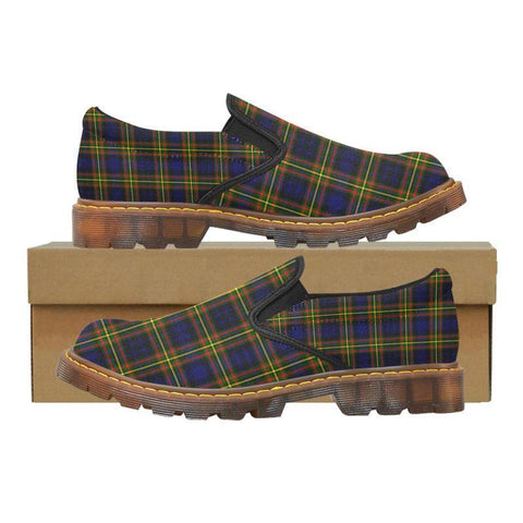 Tartan Martin Loafer - Maclellan Modern | Men's Casual Loafers | Tartan shoes
