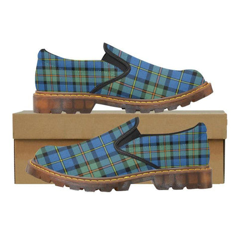 Tartan Martin Loafer - Macleod Of Harris Ancient | Men's Casual Loafers | Tartan shoes