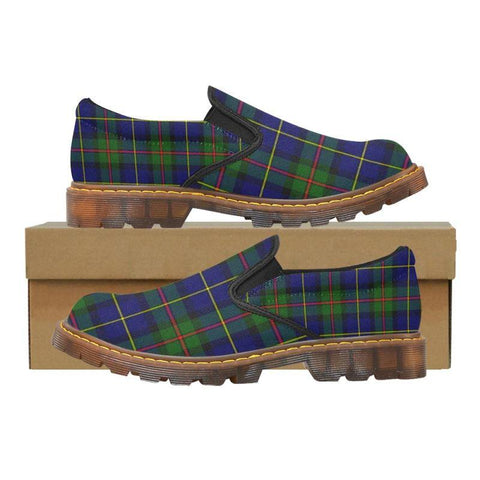 Tartan Martin Loafer - Macleod Of Harris Modern | Men's Casual Loafers | Tartan shoes