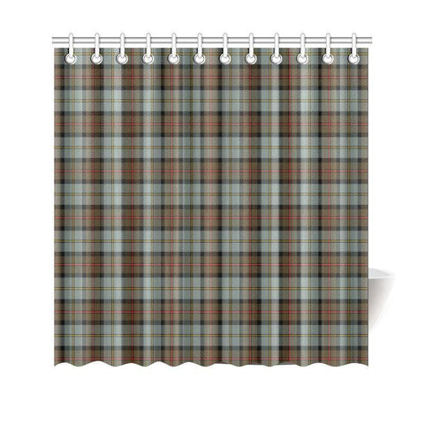 Tartan Shower Curtain - Macleod Of Harris Weathered | Bathroom Products | Over 500 Tartans