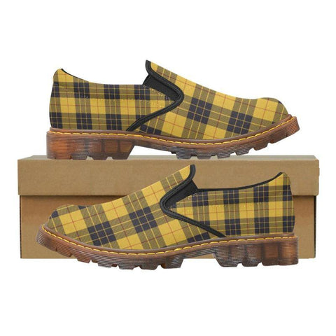 Tartan Martin Loafer - Macleod Of Lewis Ancient | Men's Casual Loafers | Tartan shoes