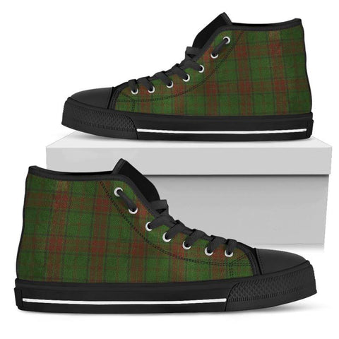 Tartan Canvas Shoes - Maxwell Hunting High Top | Over 500 Tartans