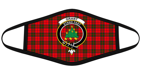 Grant Modern Clan badge Tartan Mask K7