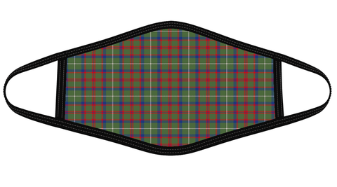 Image of Shaw Green Modern Tartan Mask K7