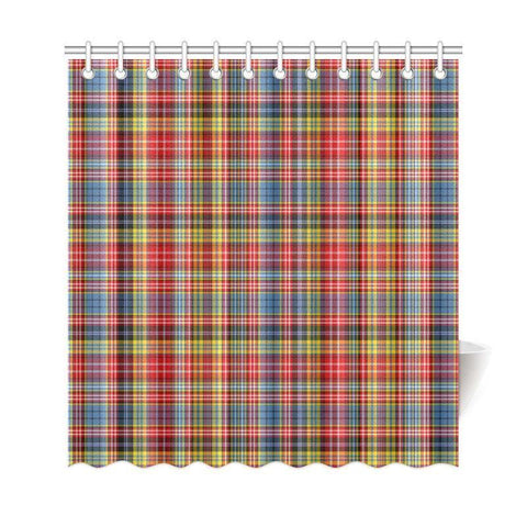 Tartan Shower Curtain - Ogilvie Of Airlie Ancient | Bathroom Products | Over 500 Tartans