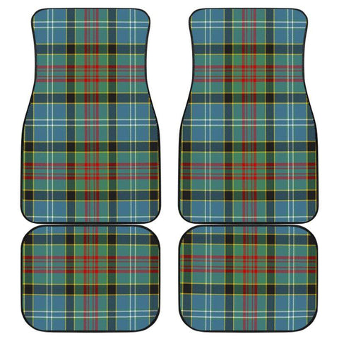 Paisley District Tartan Car Floor Mat D7 Mats