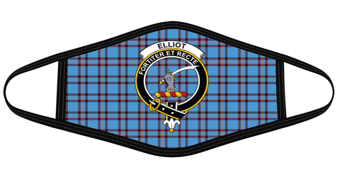 Elliot Ancient Clan badge Tartan Mask K7