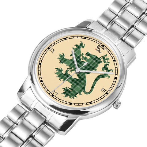 Image of MacDonald Lord of the Isles Hunting Tartan Watch Lion Scottish Vesion K7