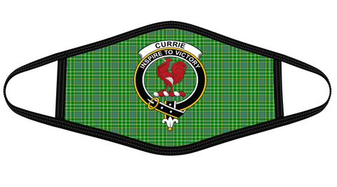 Currie Clan badge Tartan Mask K7