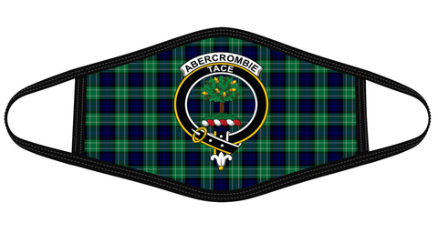 Abercrombie Clan badge Tartan Mask K7