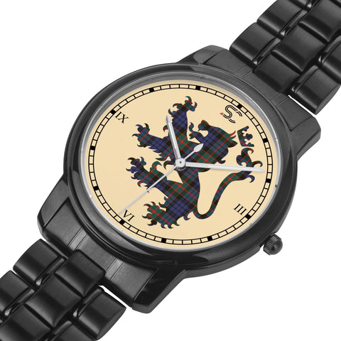 Image of Fletcher of Dunans Tartan Watch Lion Scottish Vesion K7