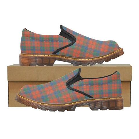 Tartan Martin Loafer - Robertson Ancient | Men's Casual Loafers | Tartan shoes
