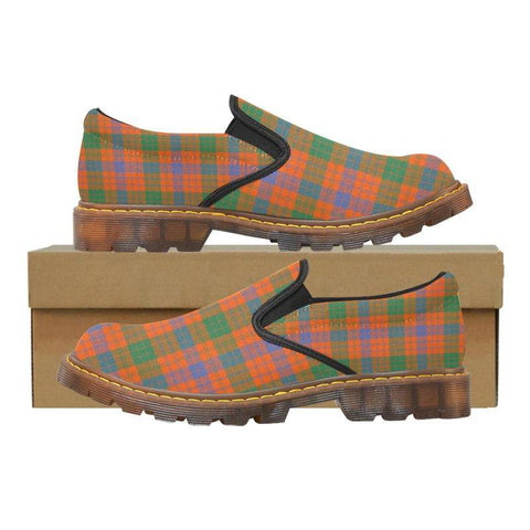 Tartan Martin Loafer - Ross Ancient | Men's Casual Loafers | Tartan shoes