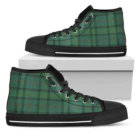 Tartan Canvas Shoes - Ross Hunting Ancient High Top | Over 500 Tartans