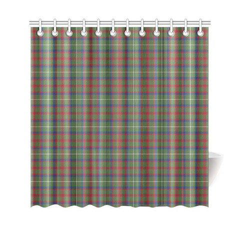 Tartan Shower Curtain - Shaw Green Modern | Bathroom Products | Over 500 Tartans