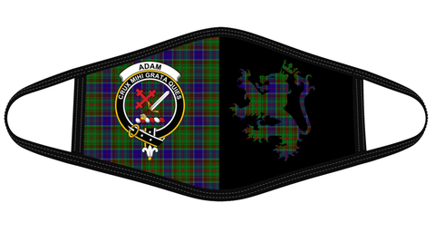 Adam Clan Badge Lion Mask Tartan Version 2 K6