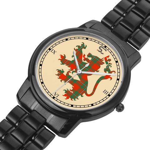 MacGregor Ancient Tartan Watch Lion Scottish Vesion K7