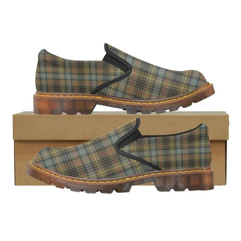 Tartan Martin Loafer - Stewart Hunting Weathered | Men's Casual Loafers | Tartan shoes