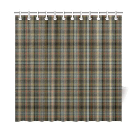 Tartan Shower Curtain - Stewart Hunting Weathered | Bathroom Products | Over 500 Tartans