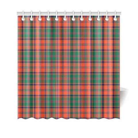 Tartan Shower Curtain - Stewart Of Appin Ancient | Bathroom Products | Over 500 Tartans