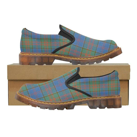 Tartan Martin Loafer - Stewart Of Appin Hunting Ancient | Men's Casual Loafers | Tartan shoes