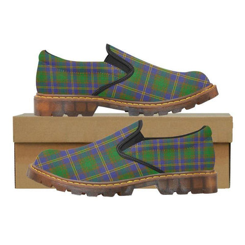 Tartan Martin Loafer - Strange Of Balkaskie | Men's Casual Loafers | Tartan shoes